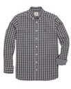 Kayak Tall Grey Check Shirt