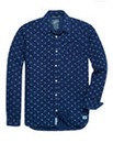 Pepe London Mighty Indigo Print Shirt