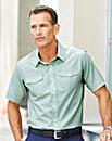 Premier Man S/S Sage Pilot Shirt