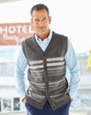 Premier Man Knitted Jacquard Waistcoat