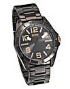 Boss Orange Gents Black Stainless Steel