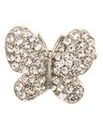 Diamante Butterfly Stretch Ring
