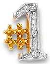 9 Carat Gold Gents #1 Stud Earring