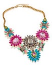 Colour Burst Statement Necklace