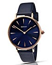 Seksy Ladies Blue Strap Watch