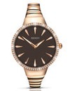 Seksy Rose Gold Plated Watch