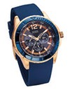Guess Gents Blue Strap Watch