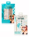 Set Of Two Metallic Body Tattoos