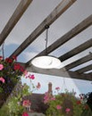 Remote Control Solar Pendant Light