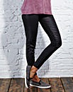 PU Front Skinny Trousers