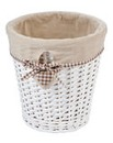 Gingham Heart Waste Bin