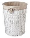 Gingham Heart Laundry Basket