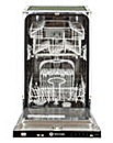 White Knight Slimline Dishwasher 9 Place