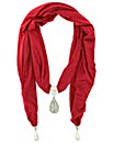 Teardrop Jewelled Scarf