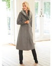 Nightingales Faux Fur Collar Coat