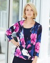 Nightingales Wrap Front Blouse