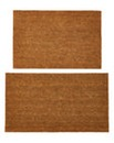 Set of 2 Plain Coir Mat