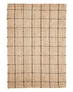 Jute Check Rug Large