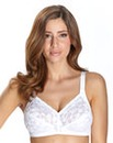 Delicate Doreen White Non Wired Bra