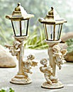 Set of 2 Cherub Post Lights