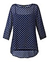 Grace Made in Britain tunic with cami