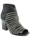 Daniel Westley Black Peep Toe Boot