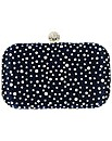 Framed Diamante Box Clutch