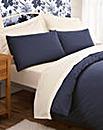 200TC Percale Plain Dye Duvet Cover