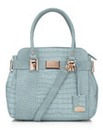 Lipsy Blue Mock Croc Tote Bag