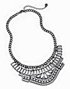 Lipsy Hermatite Collar Necklace