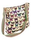 Butterfly Print Shoulder Bag