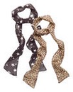 Pack of Two Printed Skinny Scarves