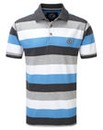 Tog24 Wells Stripe Mens Polo Shirt