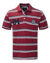 Tog24 Connor Stripe Mens Deluxe Polo