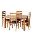 Origen Sheesham Dining Table & 4 Chairs