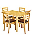 Sidmouth Fliptop Table and 4 Chairs