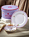 Love Lilac Tea Cup, Saucer & Plate