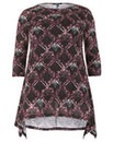 Samya Print Tunic Top