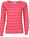 Brakeburn Coral Stripe Knitted Jumper