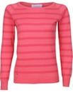 Brakeburn Coral Stripe Knitted Jumper