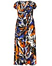 Samya Abstract Printed Dress