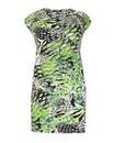 Samya Abstract Print Dress