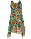 Samya Tropical Layered Dress