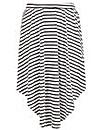 Samya Stripe Print Skirt
