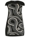 Samya Swirled Rope Tunic Dress