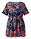 Alice And You Floral Tunic Dress