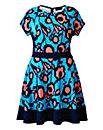 AX Paris Blue Pink Skater Dress