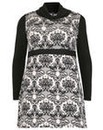 Samya Patterned Roll Neck Dress