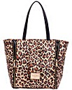 Claudia Canova Twin Strap Tote Bag