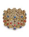 Mood Mixed Stone Circular Link Bracelet